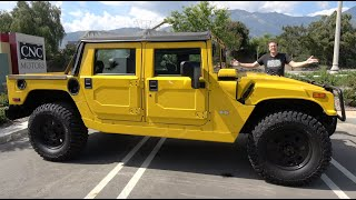 Here's Why the Hummer H1 Alpha Is the Ultimate $200,000 Off-Roader