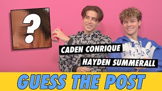 Hayden Summerall vs Caden Conrique - Guess The Post