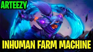 Inhuman Farm Machine - Arteezy Anti-mage 7.17 - Dota 2