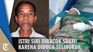 Diduga Selingkuh dengan Tetangga, Istri Siri Dibacok Suami hingga Terluka Parah