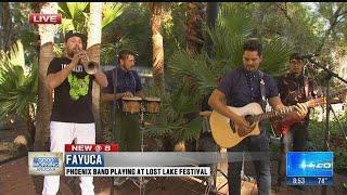 Lost Lake to feature Phoenix reggae- Latin rock band Fayuca