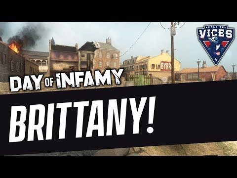 NEW MAP! BRITTANY! | Day of Infamy Gameplay