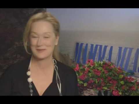 Meryl Streep talks Mamma Mia and her singing career!