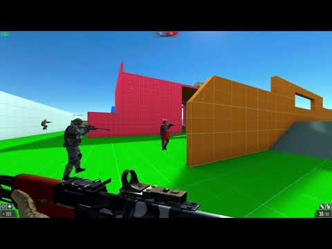 Skillwarz Gameplay (Free Indie FPS game)