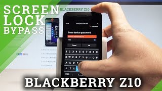 How to Hard Reset on BLACKBERRY Z10 - Remove Password / Wipe Data |HardReset.Info