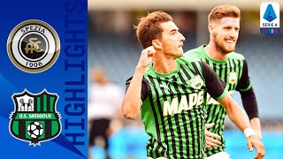 Spezia-Sassuolo 1-4, highlights