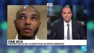 Yacine Brahimi parle de la CAN 2019 au micro de France 24