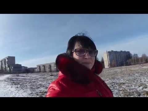 После новогодний город / Ёлка в поселке / НАКАЗАНИЕ за вырубленные Ёлки