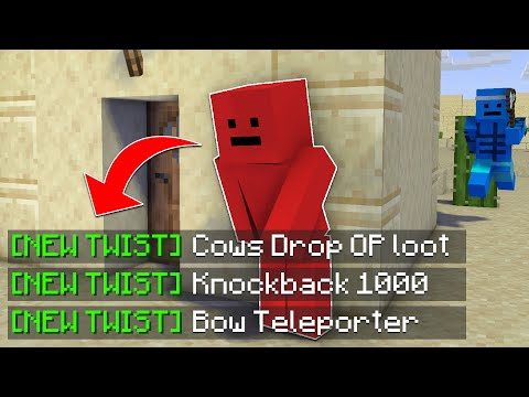 Minecraft Manhunt, But There's Multiple Twists...