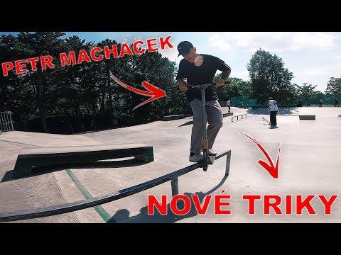 PETR MACHÁČEK MĚ UČÍ NOVÉ TRIKY!   Freestyle Scootering #24