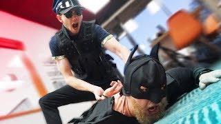 Arresting Batman At Hi5 Studios!?