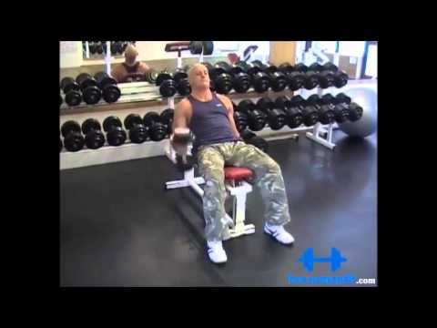 Alternate Incline Hammer Curl
