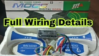 Magic horn 22 sound horn 12vdc most popular videos mocc horn wiring and fitting gajanan auto service and parts swarovskicordoba Gallery
