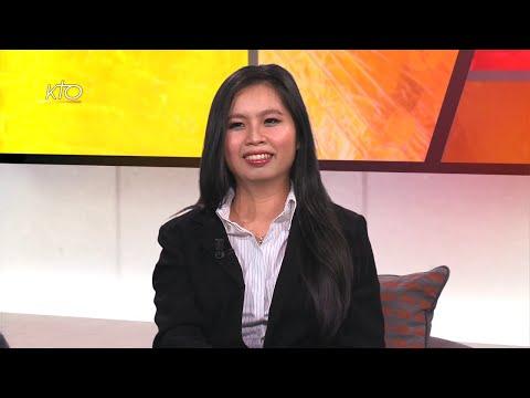Marianna Pham, une catholique venue du Vietnam chante pour Dieu
