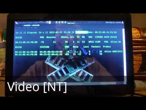 Hacking Tutorial - Hacking Wifi with aircrack-ng