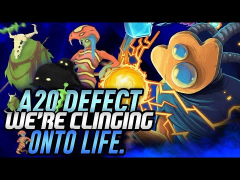 We're Clinging onto Life. | Ascension 20 Defect Run | Slay the Spire
