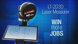 Laser templator lt 2d3d laser measurer for millwork maxwellsz