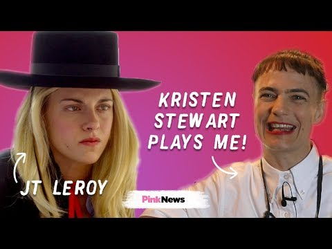 Kristen Stewart plays my life! I'm the real JT LeRoy
