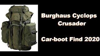 BERGHAUS CRUSADER CYCLOPS 90 LITRE RUCKSACK (Vintage)....bexbugoutsurvivor