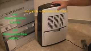 Luftentfeuchter ,Raumentfeuchter ,Dehumidifier, teil 1