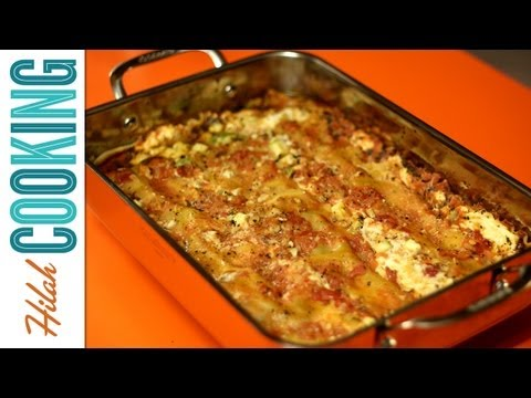 How to Make Meatless Lasagna | Hilah Cooking