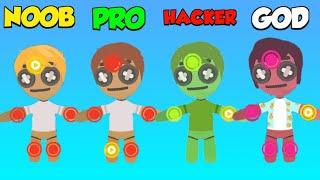 NOOB vs PRO vs HACKER vs GOD - Voodoo Doll