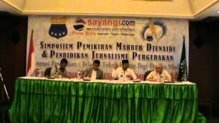KH Hasyim Muzadi Tentang Penulis Pergerakan