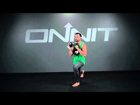 Kettlebell Figure 8 to Reverse Lunge