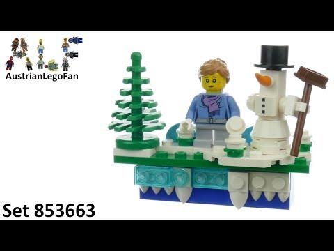Vidéo LEGO Saisonnier 853663 : Aimant de Noël