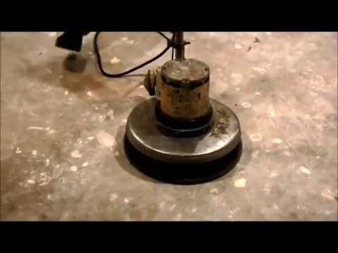 How to prepare a concrete floor for color stain - www.SealGreen.com - 800-