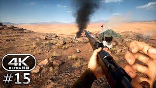Battlefield 1 4K Gameplay Walkthrough Part 15 - BF1 Campaign 4K 60fps