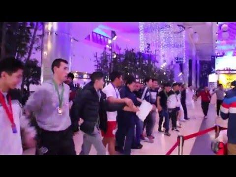 Осуохай дружбы в Алматы