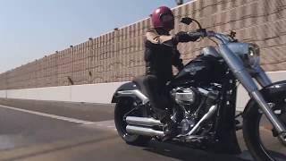 【走ってなんぼ!】バイク最高! TRIJYA Custom FLFBS 114 Fatboy