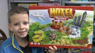 Kassiker als Neuauflage - Hotel Tycoon von asmodee ab 8 Jahre