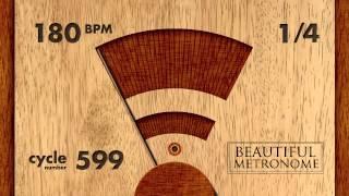 180 BPM 14 Wood Metronome HD