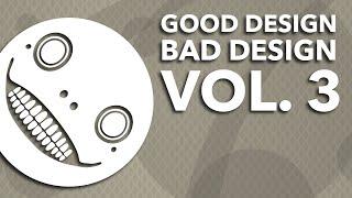 Good Design, Bad Design Vol. 3 - Amazing and Awful Video Game Graphic Design ~ Design Doc