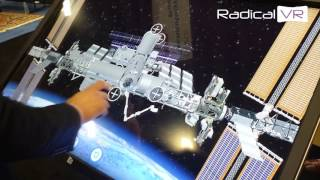 International Space Station Touch Screen Interactive