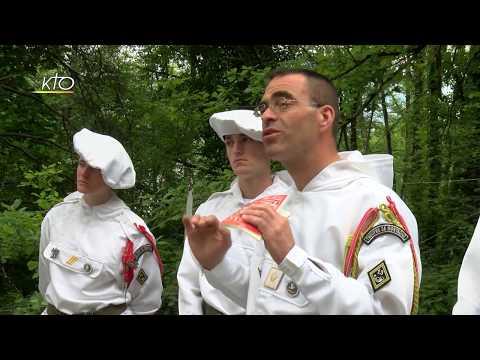 Les militaires à Lourdes : Donne-nous la paix !