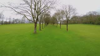 FPV freestyle (golf course)
