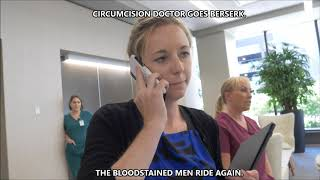 Blood Stained Men invade a medical office building, assault female doctor
