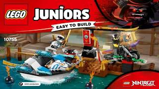 Лего Джуниорс 2018 Погоня на моторной лодке Зейна LEGO Juniors ZANE'S NINJA BOAT PURSUIT 10755