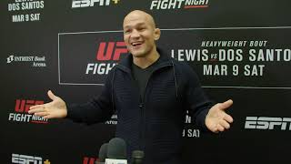 UFC Wichita: Junior Dos Santos - Media Day Scrum