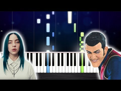 Bad Guy/We Are Number One - Piano Mashup by PlutaX