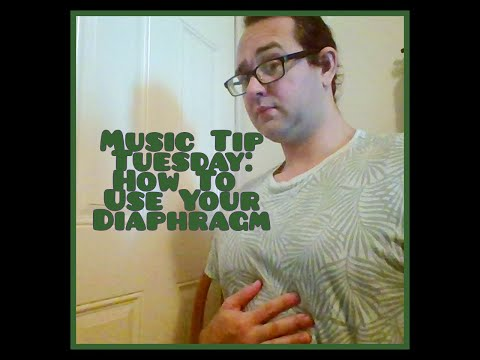 Music Tip Tuesdays are Back! Let's start with that tricky diaphragm!