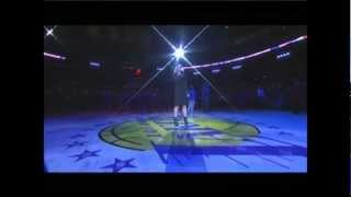 Storm Large Sings the National Anthem for L.A. Lakers!