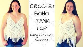 Crochet Boho Tank Top - Crochet Tank Top