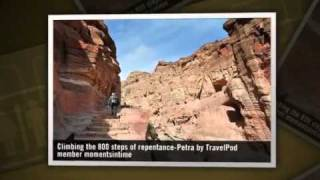 preview picture of video '800 steps of repentance leading to the Monastery Momentsintime's photos around Petra, Jordan'