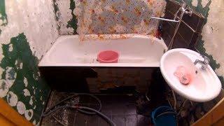 Как самому сделать ремонт в ванной комнате