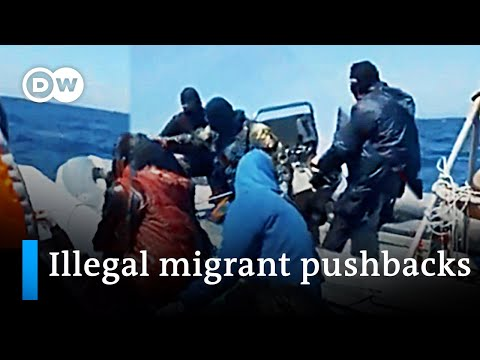 Investigation links Greek Coast Guard to illegal migrant pushbacks in the Mediterranean | DW News
