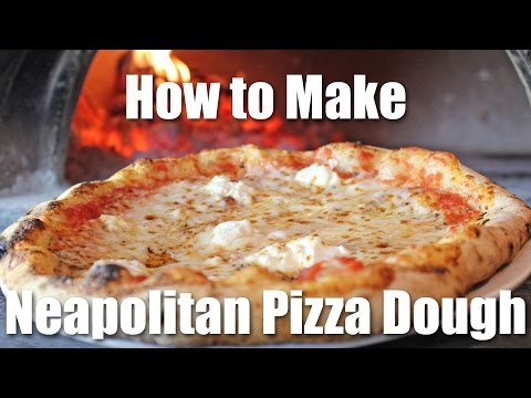 Making Neapolitan wood fired pizza at home